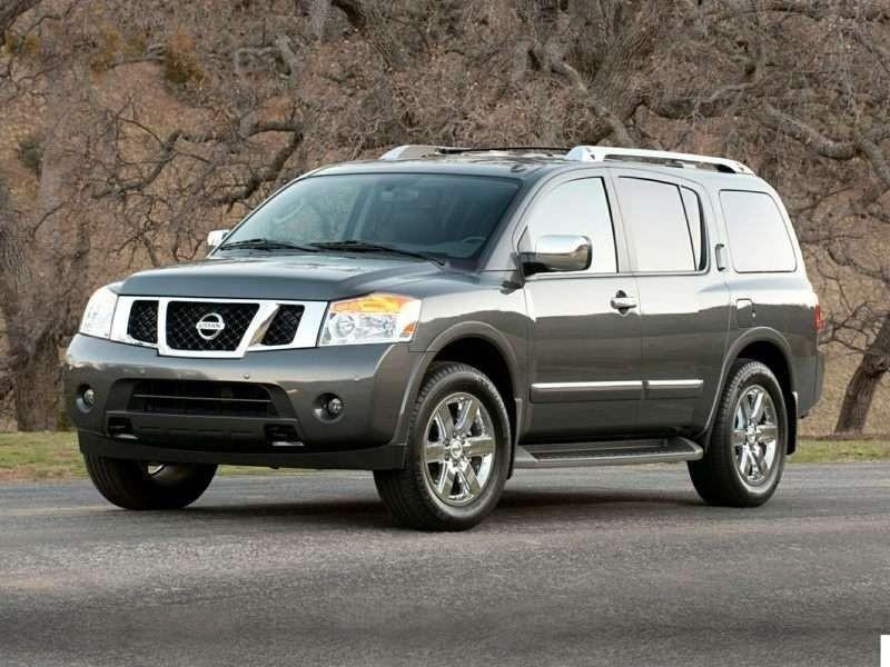 แนะนำ 5 รถยนต์ 8 ที่นั่ง น่าใช้ Nissan Armada